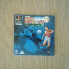 Manual - Adidas Power Soccer international 97 - Playstation PS1 ( GameLand )
