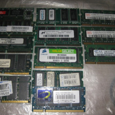 Lot memorii laptop 8/512mb - Memorie RAM laptop Alta