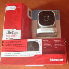 Vand Camera Web Microsoft VX-800 Alba (Webcam), Microfon