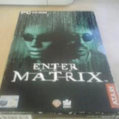 Joc PC - Enter the Matrix - BOX SET ( GameLand ) - Jocuri PC, Actiune, 16+