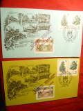 2 Plicuri 100 Ani Hohe Rinne -Paltinis , 2 timbre Hohe Rinne , 1995