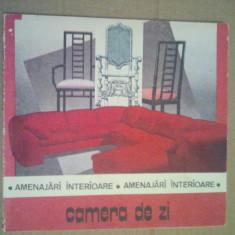 CAMERA DE ZI - AMENAJARI INTERIOARE - RADULESCU DANIELA - Carte amenajari interioare