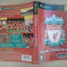 Coperta - Liverpool Club Fotball - XBOX ( GameLand )