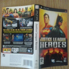 Coperta - Justice League Heroes - PSP ( GameLand )