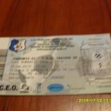 bilet     Pandurii  Tg.  Jiu  -  CSU  Craiova