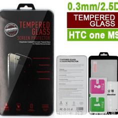 Folie protectie din sticla securizata pt HTC One M9 9H 0.3mm 2.5D tempered glass - Folie de protectie