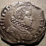 G.036 ITALIA SICILIA OCUPATIE SPANIOLA FILIP IV 4 TARI 1648 ARGINT 10,4g, Europa