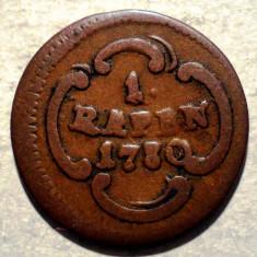 C.048 ELVETIA CANTON SCHWYZ 1 RAPPEN 1780 - Moneda Medievala, Europa