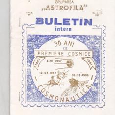 Bnk fil Astrofila - Buletin intern nr 6/1987