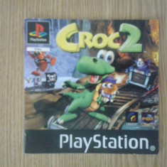 Manual - Croc 2 - Playstation PS1 ( GameLand )