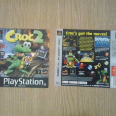 Coperta - Croc 2 - Playstation PS1 ( GameLand )
