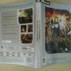 Coperta - The lord of the rings - The return of the king - PC ( GameLand )
