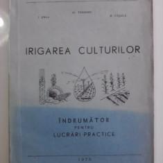 Irigarea culturilor.Indrumator pentru lucrari practice (1979) /R8P2F