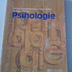 Psihologie.Manual cls. a X-a(2005) /C50P - Manual scolar humanitas, Clasa 10, Humanitas, Alte materii