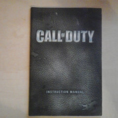 Manual - Call of duty - PC ( GameLand ) Ubisoft