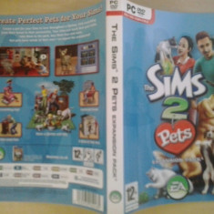 Coperta -The Sims 2 pets - Expansion pack - PC  ( GameLand )