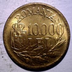 R.306 ROMANIA MIHAI I 10000 LEI 1947 XF/AUNC punct sters 10.000 - Moneda Romania, Alama