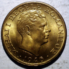 R.291 ROMANIA MIHAI I 2000 LEI 1946 XF/AUNC - Moneda Romania, Alama