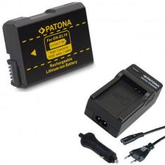 PATONA   Incarcator + Acumulator compatibil Nikon EN EL14 ENEL14   1030mAh - Incarcator Aparat Foto