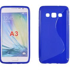 Husa Samsung Galaxy A3 A300 TPU S-LINE Blue