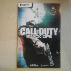 Manual - Call of duty - Black Ops - PC ( GameLand ) Ubisoft