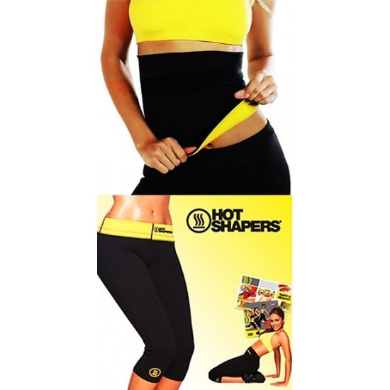 Set pantaloni si centura pentru slabit Hot Shapers foto mare