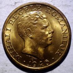 R.274 ROMANIA MIHAI I 2000 LEI 1946 XF/AUNC punct vag REGELE . ROMANILOR - Moneda Romania, Alama