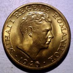 R.284 ROMANIA MIHAI I 2000 LEI 1946 XF/AUNC - Moneda Romania, Alama