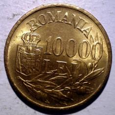 R.305 ROMANIA MIHAI I 10000 LEI 1947 XF/AUNC punct sters 10.000 - Moneda Romania, Alama