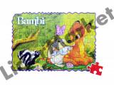 Joc puzzle Bambi cu 60 piese