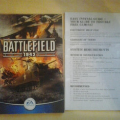 Manual - Battlefield 1942 - PC ( GameLand ) Electronic Arts