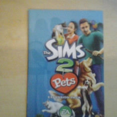 Manual - The Sims 2 Pets Expansion Pack - PC ( GameLand ) Electronic Arts