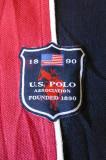Tricou U.S.P.A. US Polo Association 1890; marime M, vezi dimensiuni exacte, Maneca scurta