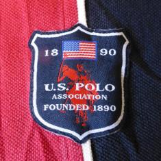 Tricou U.S.P.A. US Polo Association 1890; marime M, vezi dimensiuni exacte - Tricou barbati, Marime: M, Culoare: Din imagine, Maneca scurta