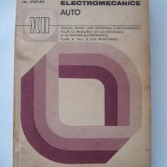 INSTALATII ELECTROMECANICE AUTO - E.Antonescu si Al.Steflea - Carti auto