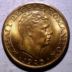 R.268 ROMANIA MIHAI I 2000 LEI 1946 XF/AUNC - Moneda Romania, Alama