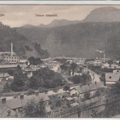 AZUGA, VEDERE GENERALA, CIRCULATA, STAMPILA SEP. 1913 - Carte Postala Muntenia 1904-1918, Printata