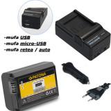 PATONA | Incarcator 4in1 + Acumulator compatibil Sony NP-FW50 NP FW50 NPFW50