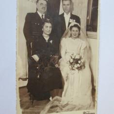 FOTO SOCRU OFITER IN UNIFORMA PARADA 1915 - Fotografie veche