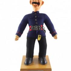 Papusa Steiff - pompier - Papusa de colectie