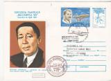 Bnk fil Plic ocazional Balcanfila VIII 1981 zbor TAROM  Bucuresti Istambul