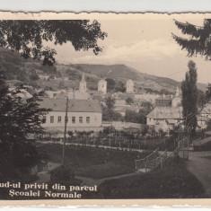 ABRUD-UL PRIVIT DIN PARCUL SCOALEI NORMALE - Carte Postala Transilvania 1904-1918, Necirculata, Printata