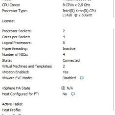HP DL380 G5, 2 X QUad Core, 32GB RAM, 8 x 146GB SAS, DVD ROM - Server HP