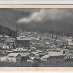 BUSTENI, VEDERE GENERALA, FABRICA DE HARTIE - Carte Postala Muntenia dupa 1918, Necirculata, Printata