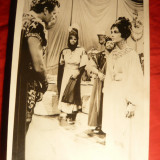 Fotografie- Cinema- Cleopatra cu R.Burton si Elisabeth Taylor , 23,5x 16,1cm