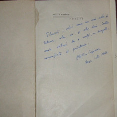 Poezii - Otila Cazimir (dedicatie, autograf) - Carte de colectie