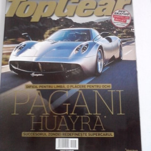 Revista Top Gear  - martie   2011   /C rev P