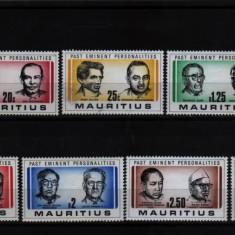 1981 mauritius mi. 519-525 conditie perfecta