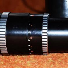 Obiectiv carl zeiss jena sonnar f 3. 5 / 135 (fllet M42) - model zebra + CADOU - Inel macro obiectiv foto