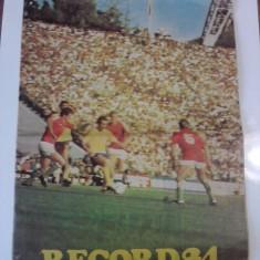 Revista RECORD 84- revista sportiva /C rev P